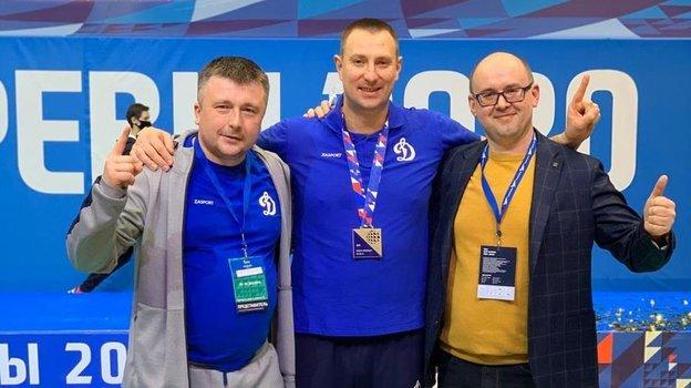 Сергей Заиченко (слева) иКонстантин Брянский (вцентре).