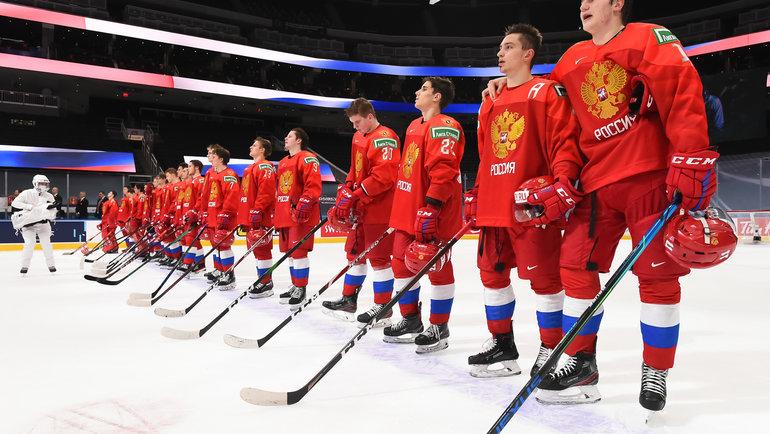 Сборная России наМЧМ-2021. Фото IIHF