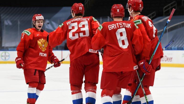 Сборная России— четвертая врейтинге МЧМ-2021. Фото IIHF
