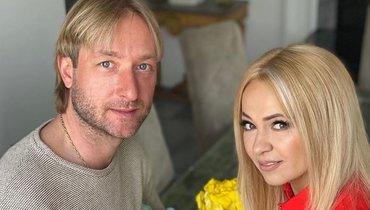 «Неповторимая, уникальная, любимая». Плющенко поздравил жену сднем рождения