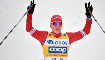 Вылегжанин назвал закономерной победу Большунова вгонке преследования «Тур деСки»
