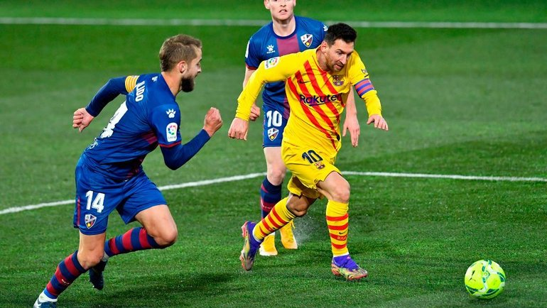 3января. «Уэска»— «Барселона»— 0:1. Фото Twitter
