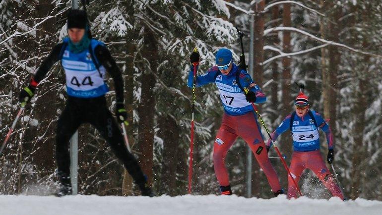 На «Ижевской винтовке» спортсмены сбежали отдопинг-офицера. Фото Биатлон Удмуртии