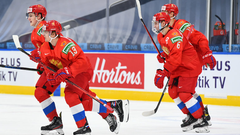 Россия сыграет против Финляндии вматче затретье место наМЧМ-2021. Фото IIHF
