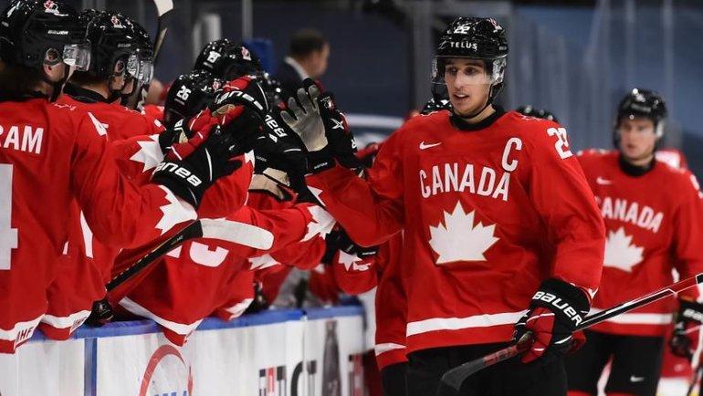 Канада напути вфинал разгромила Россию— 5:0. Фото IIHF