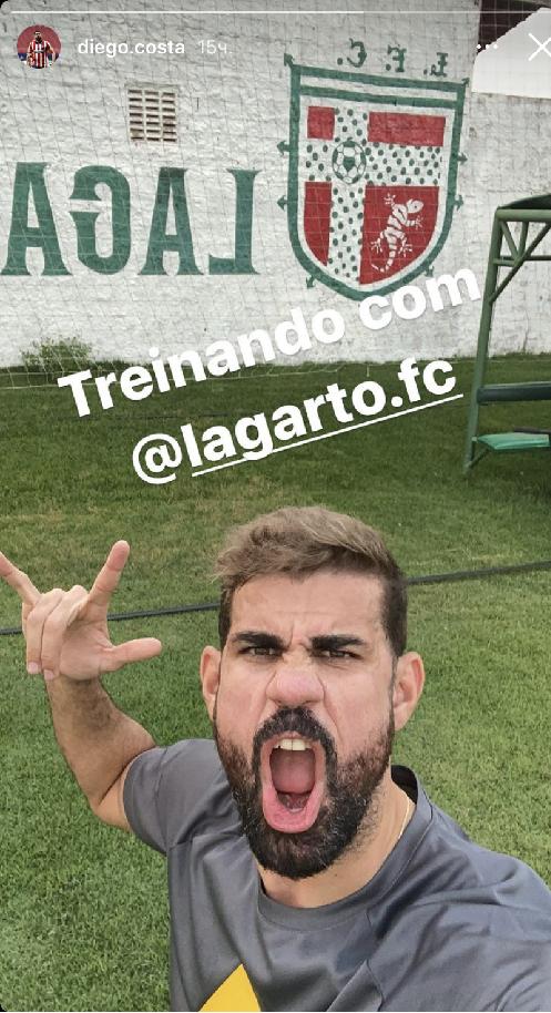 Диего Коста. Фото Instagram