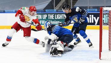6января. Эдмонтон. Финляндия— Россия— 4:1. Команда Игоря Ларионова осталась без медалей.