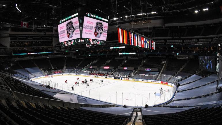 Канада— США: финал. Фото IIHF