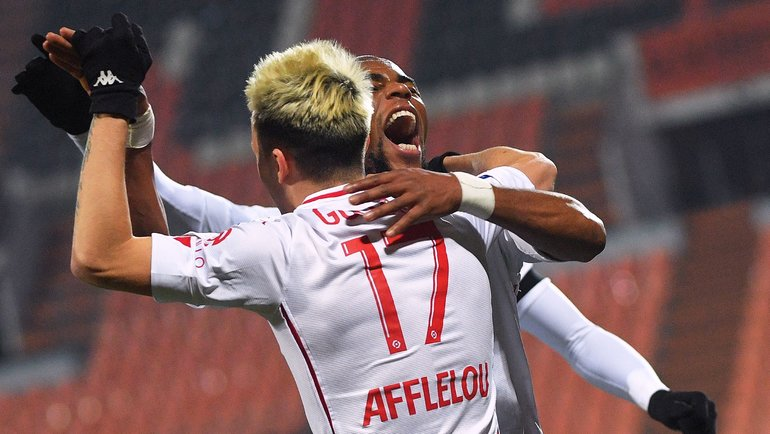 6января. Лорьян. «Лорьян»— «Монако»— 2:5. Александр Головин. Фото AFP