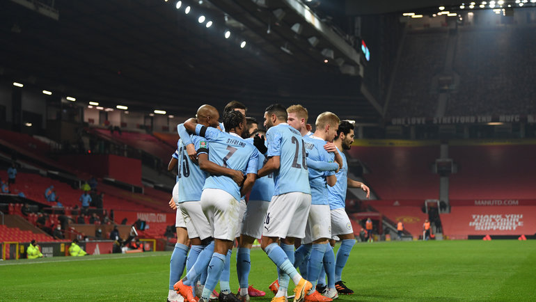 «Манчестер Сити» обыграл «Манчестер Юнайтед». Фото Reuters