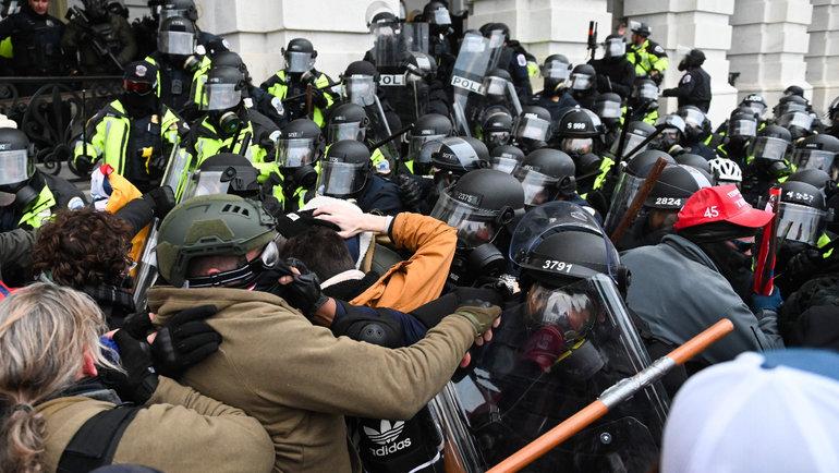 Массовые беспорядки вСША. Фото Reuters