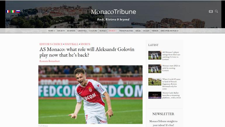 Monaco Tribune.