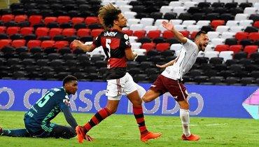 «Фламенго» проиграл класико напоследней минуте, оборону «Сан-Паулу» уничтожили затайм