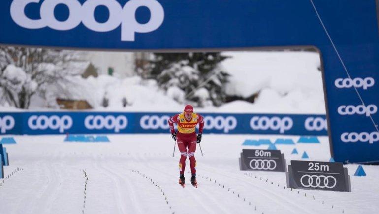 Александр Большунов. Фото Nordic Focus