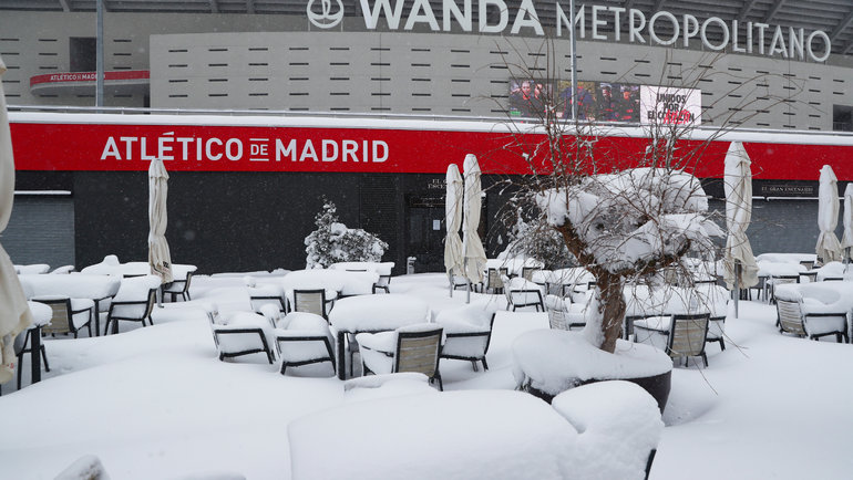 Стадион «Атлетико» вМадриде. Фото Reuters