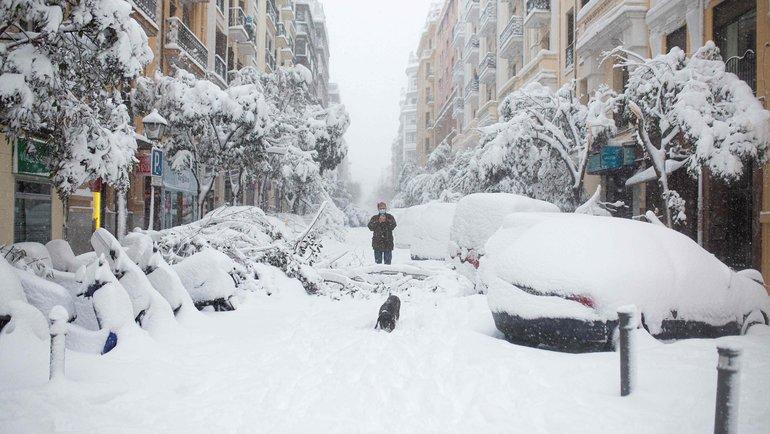 Улицы Мадрида. Фото AFP