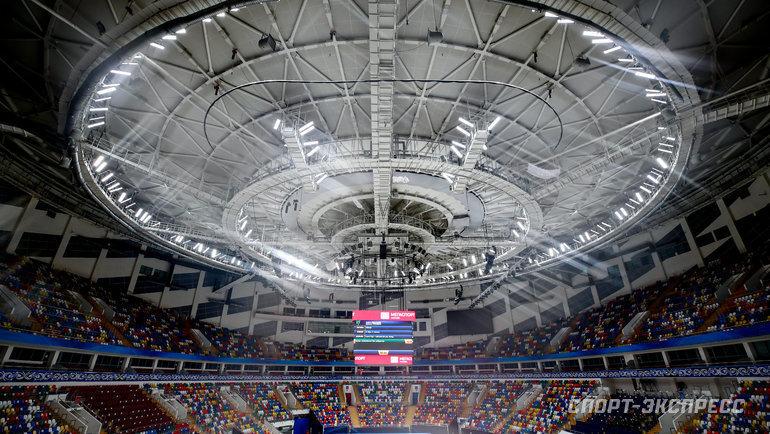 Москва или другой каток России неможет принять чемпионат мира доконца 2022 года. Фото Дарья Исаева, «СЭ» / Canon EOS-1D X Mark II