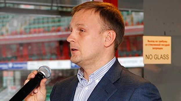 Владимир Кузьмичев. Фото ФК «Локомотив»