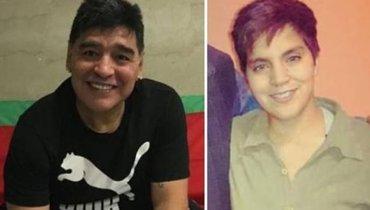 ВАргентине нашли внебрачную дочь Марадоны, которая непретендует наего наследство