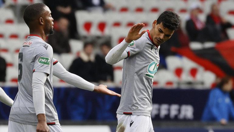 Футболист «Ниццы» Данило (справа). Фото AFP
