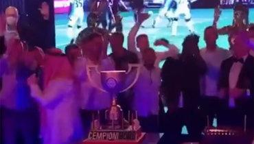 «Рига» отметила победу вчемпионате Латвии.