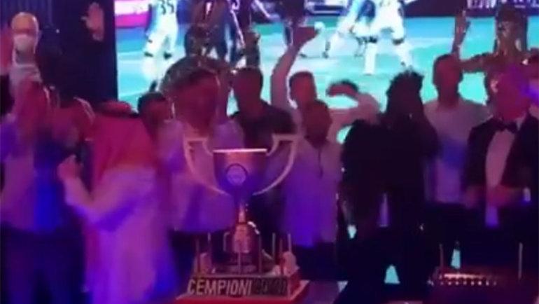 «Рига» отметила победу вчемпионате Латвии. Фото Instagram