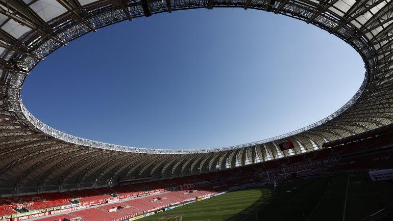 Бразилия, Порту-Алегри. Стадион «Бейра-Рио». Фото Reuters