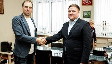 Бывший главный тренер «Динамо» Новиков возглавил «Нефтехимик»