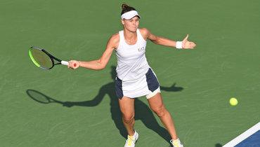 Турнир WTA вАбу-Даби. Вероника Кудерметова проиграла Арине Соболенко вфинале