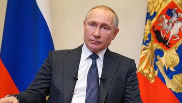 Путин поручил начать массовую вакцинацию россиян соследующей недели
