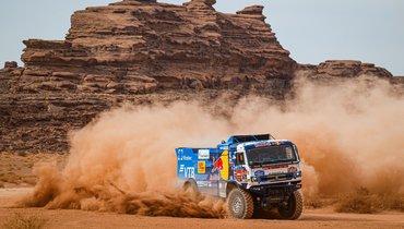 Экипаж Шибалова показал лучший результат на11-м этапе ралли «Дакар»