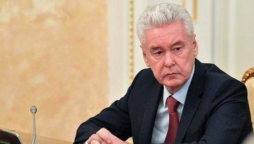 Собянин рассказал, когда ждет спада пандемии вМоскве