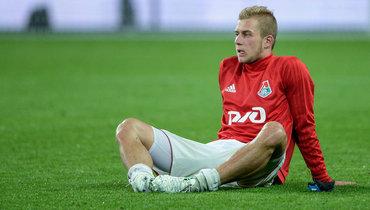 Баринов провел первую тренировку с «Локомотивом» за4,5 месяца