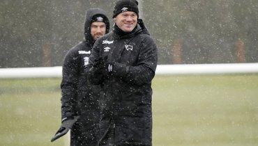 Руни— главный тренер «Дерби Каунти». Онобъявил озавершении карьеры футболиста