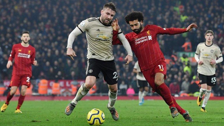 «Ливерпуль» насвоем поле примет «Манчестер Юнайтед». Фото AFP