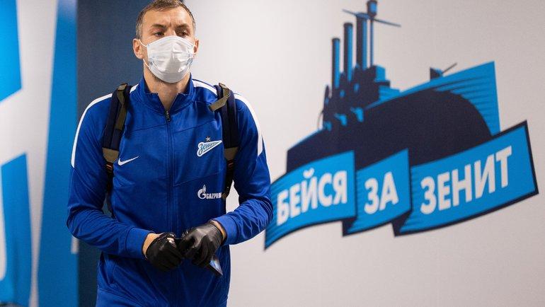 Артем Дзюба. Фото Вячеслав Евдокимов/ФК «Зенит»
