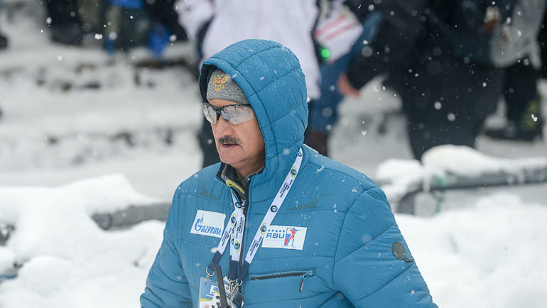 Анатолий Хованцев. Фото Союз биатлонистов России.