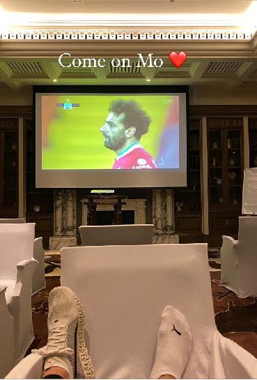 «Давай, Мо!» Ловрен показал, как поддерживает Салаха вматче «Ливерпуль»— «МЮ»
