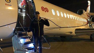 Езил прилетел вСтамбул для подписания контракта с «Фенербахче»