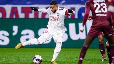 «Лион» уступил «Метцу» инесмог возглавить чемпионат Франции