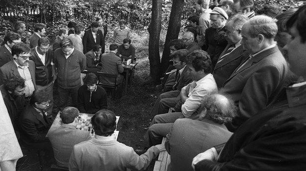 "Август 1984 года. Сокольники. Фото Александр Федоров, ""СЭ"""