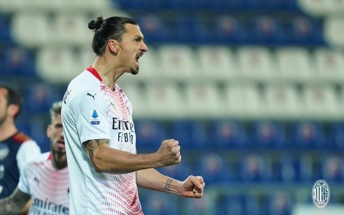 Златан Ибрагимович. Фото «Милан»