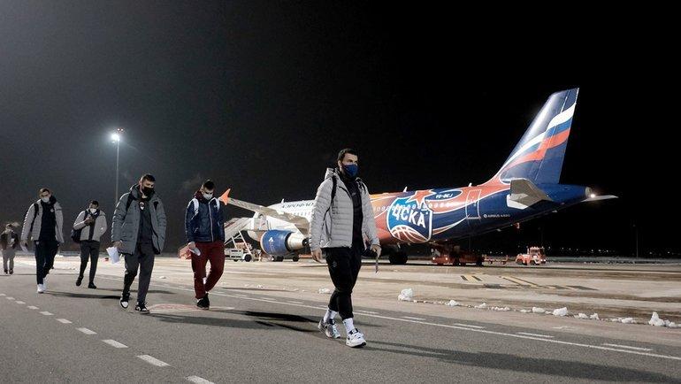Баскетболисты ЦСКА. Фото БКЦСКА