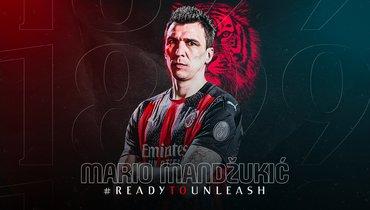 Марио Манджукич. Фото ФК «Милан»