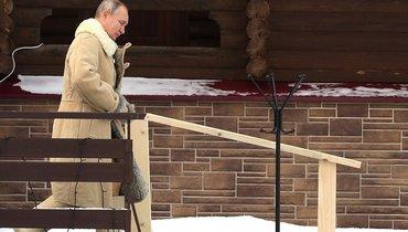 Путин принял участие вкрещенских купаниях