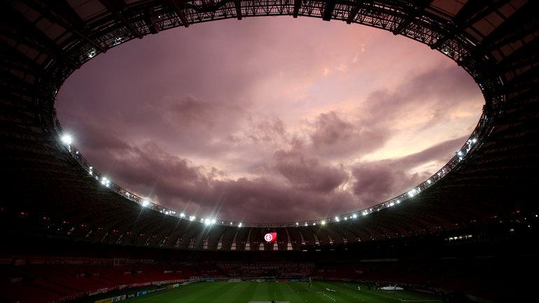 Стадион «Вила Белмиро», Сантос, Бразилия. Фото Reuters