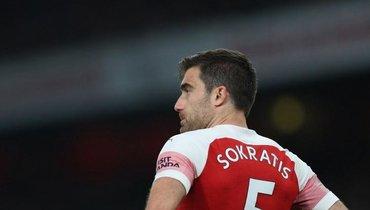 «Арсенал» разорвал контракт сСократисом