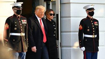 Трамп покинул Белый дом перед инаугурацией Байдена