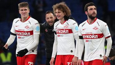 Александр Соболев, Доменико Тедеско, Алекс Крал, Георгий Джикия.