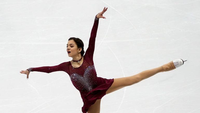 Евгения Медведева. Фото Ольга Бенар